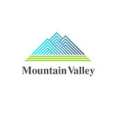 Vector design element. Mountain Valley sign