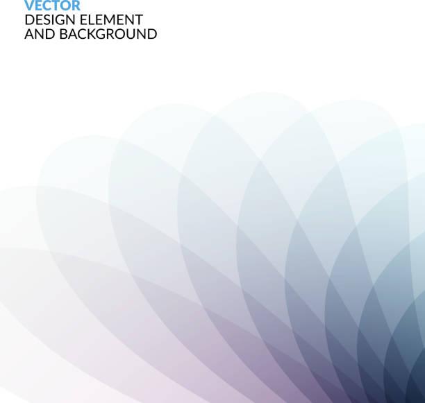 Vector Design Elements for graphic layout. Modern Abstract backg vector art illustration