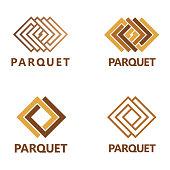 Vector design elements for parquet, laminate, flooring, tiles