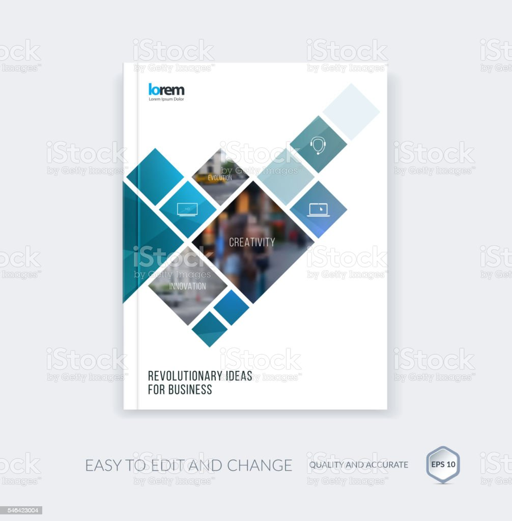 Delightful Vector Design For Cover Annual Report. Brochure Or Flyer In Royalty Free  Vector Design