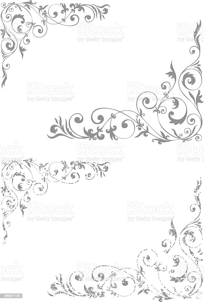 Vector design ornament royalty-free stock vector art