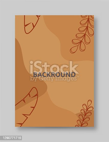 istock Vector design template and illustration in minimal linear style - minimalistic modern art - Beautiful female figure and leaves - abstract t-shirt print - beauty and fashion concept stock illustration 1290771715