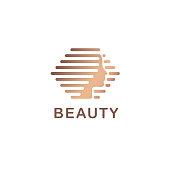 Vector design template  for beauty salon, hair salon, cosmetic