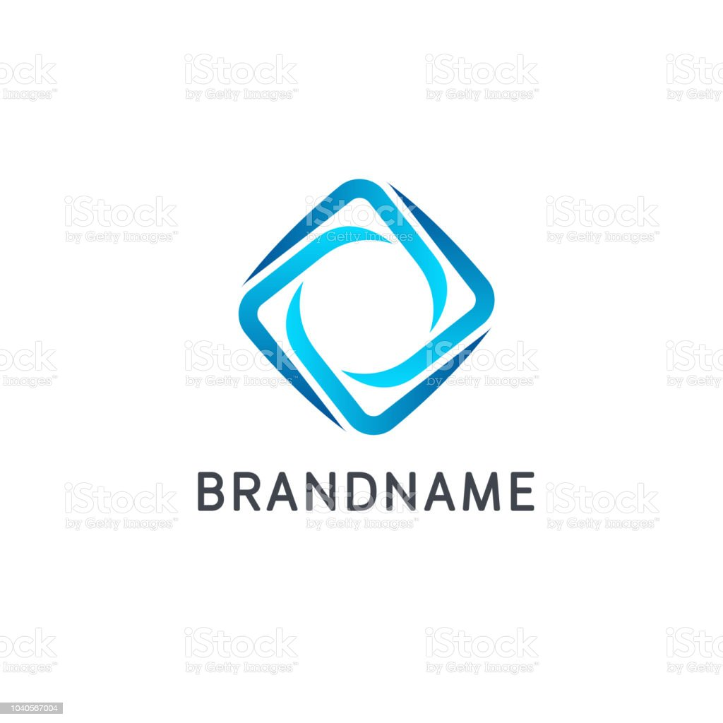 Vector design template for business. Abstract sign vector art illustration