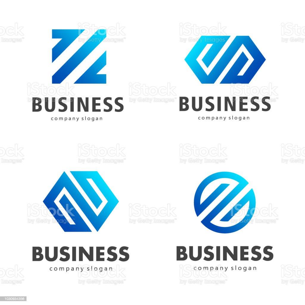 Vector design template for business vector art illustration