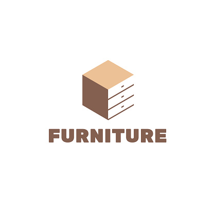 Vector design template for furniture store