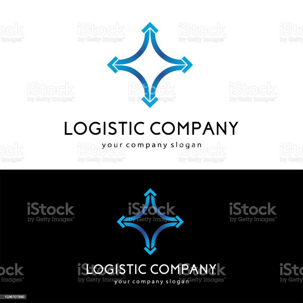 Vector design template for logistics and delivery company. vector art illustration