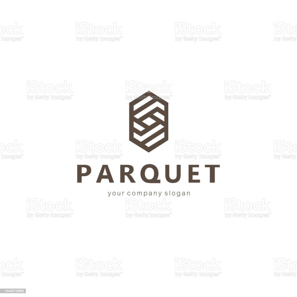 Vector Design Template For Parquet Laminate Flooring Tiles Stock