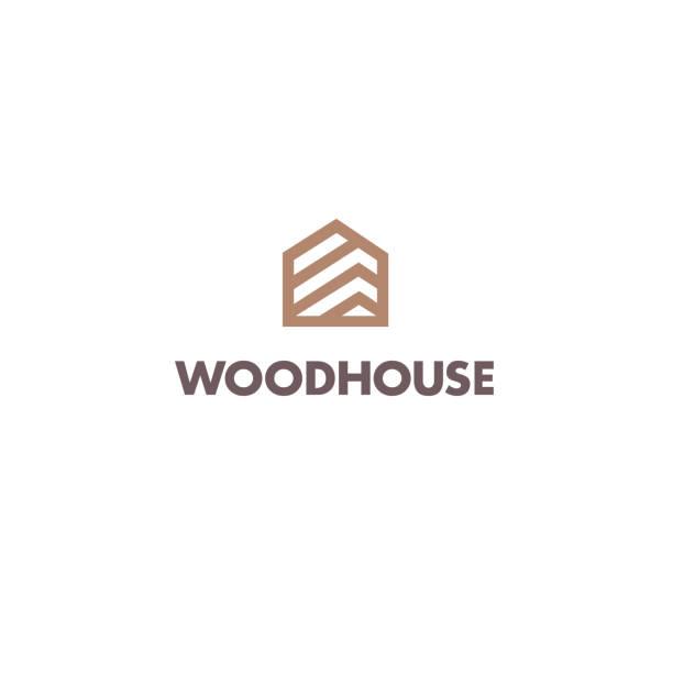 Vector design template for parquet, laminate, flooring. Wood house icon Vector design template for parquet, laminate, flooring. Wood house icon patio stock illustrations