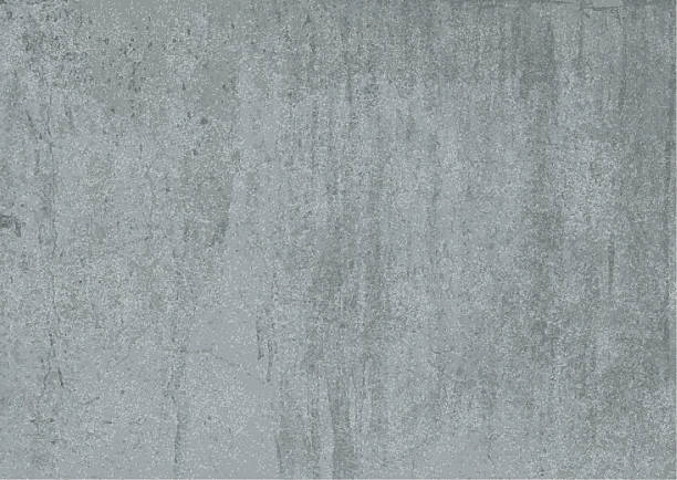 Vector Detailed Concrete Texture. – Vektorgrafik