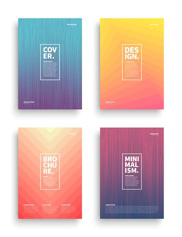 Vector Different Brochures Design Templates