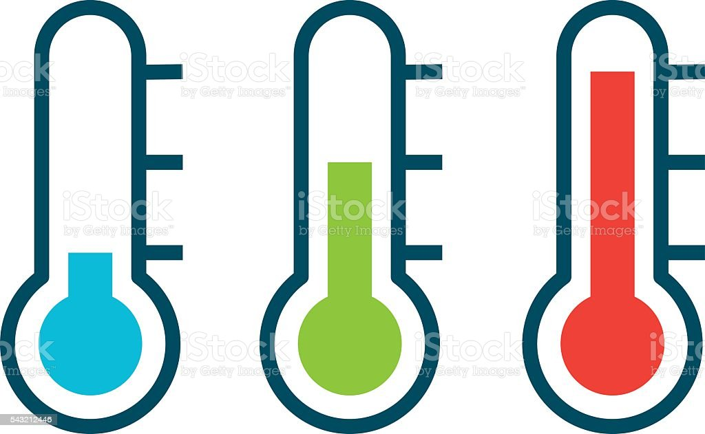 royalty free thermometer clip art vector images illustrations rh istockphoto com clipart thermometer hot clip art thermometer fundraising goal