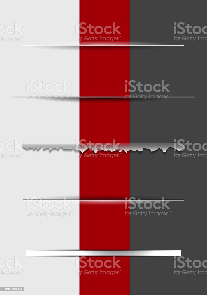 Vector dividers set royalty-free vector dividers set stock vector art & more images of abstract