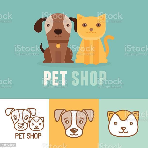 Vector dog and cat icons and logos vector id465729654?b=1&k=6&m=465729654&s=612x612&h=abg5bwe3lesddjikfytknt0oia omyw9fmvn hkvxgm=