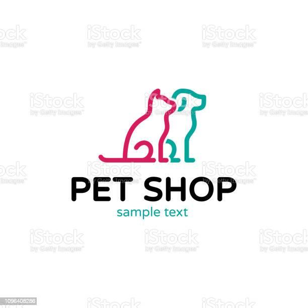 Vector dog and cat pet logo template vector id1096408286?b=1&k=6&m=1096408286&s=612x612&h=svlhhvxopk0wmzwpgs1d6ezh a0vmhnamqsmktfn81e=