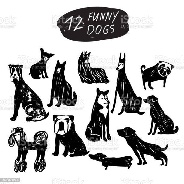 Vector dog icon set terrier shepherd labrador bulldog pug husky vector id892375820?b=1&k=6&m=892375820&s=612x612&h=izhinvau46azvhqa9pz1ckbnl4ynyqfeqvkojyugnru=