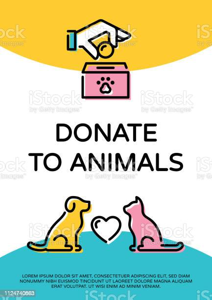 Vector donate to animals banner template vector id1124740863?b=1&k=6&m=1124740863&s=612x612&h=tdjkuhv9f3qqc9r7ung rf34iq8diap77gbid4dd0pe=
