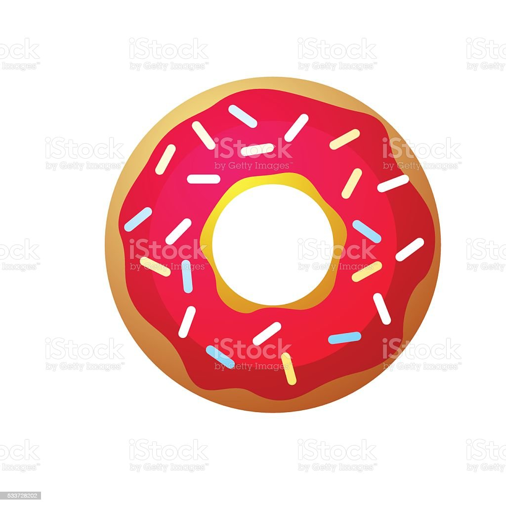 royalty free jelly doughnut clip art vector images illustrations rh istockphoto com doughnut clip art no background donut clip art free