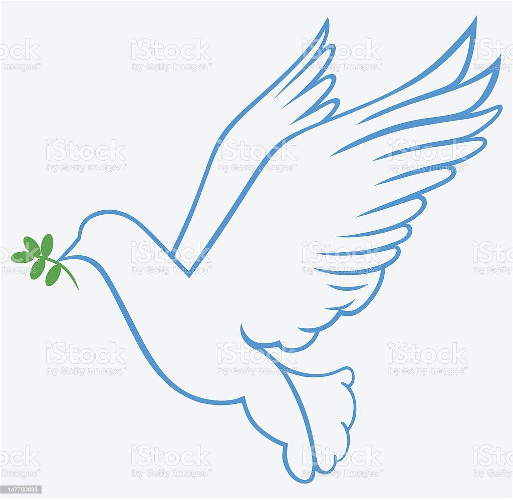Vector Dove Symbol Stock Vector Art More Images Of Ark 147750635