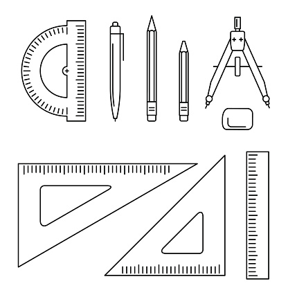 Vector drawing instrument.