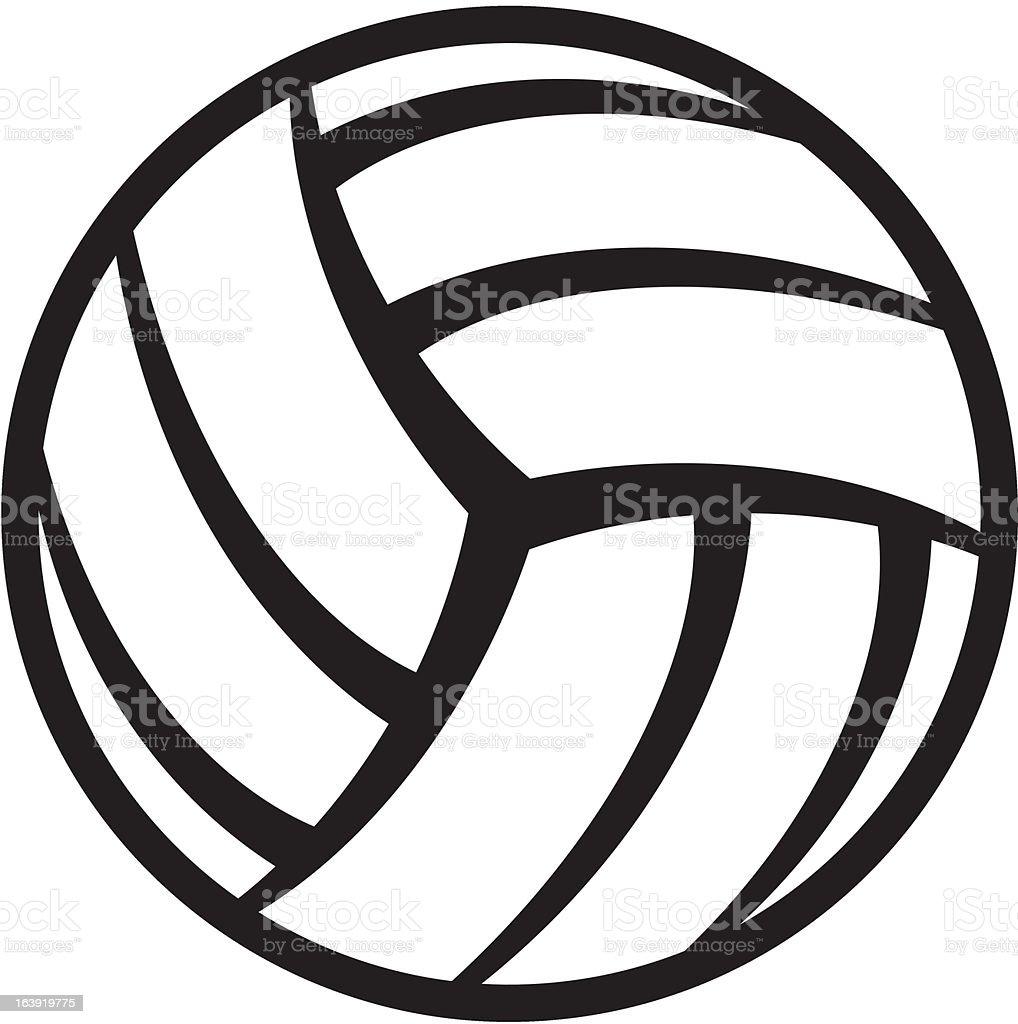 volleyball-ball – Vektorgrafik