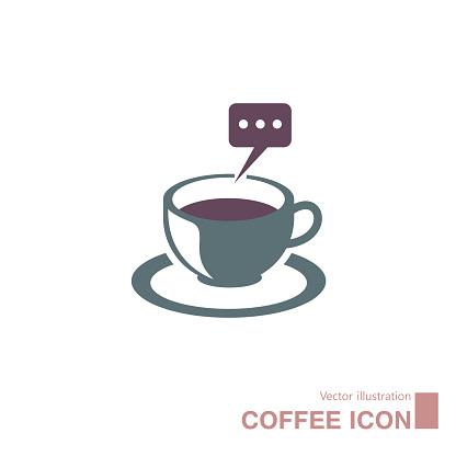 Vector drawn coffee.