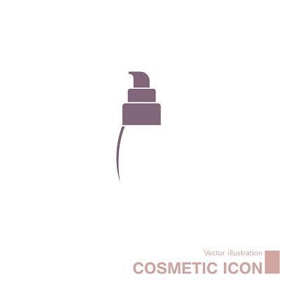 Vector drawn cosmetics.