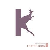 Vector drawn English alphabet creative idea. Isolated on white background.