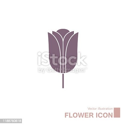 istock Vector drawn flowers. 1188760618