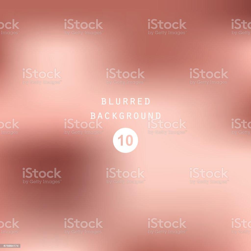 Vector dusty cedar foil background. Pink silk smooth texture vector art illustration