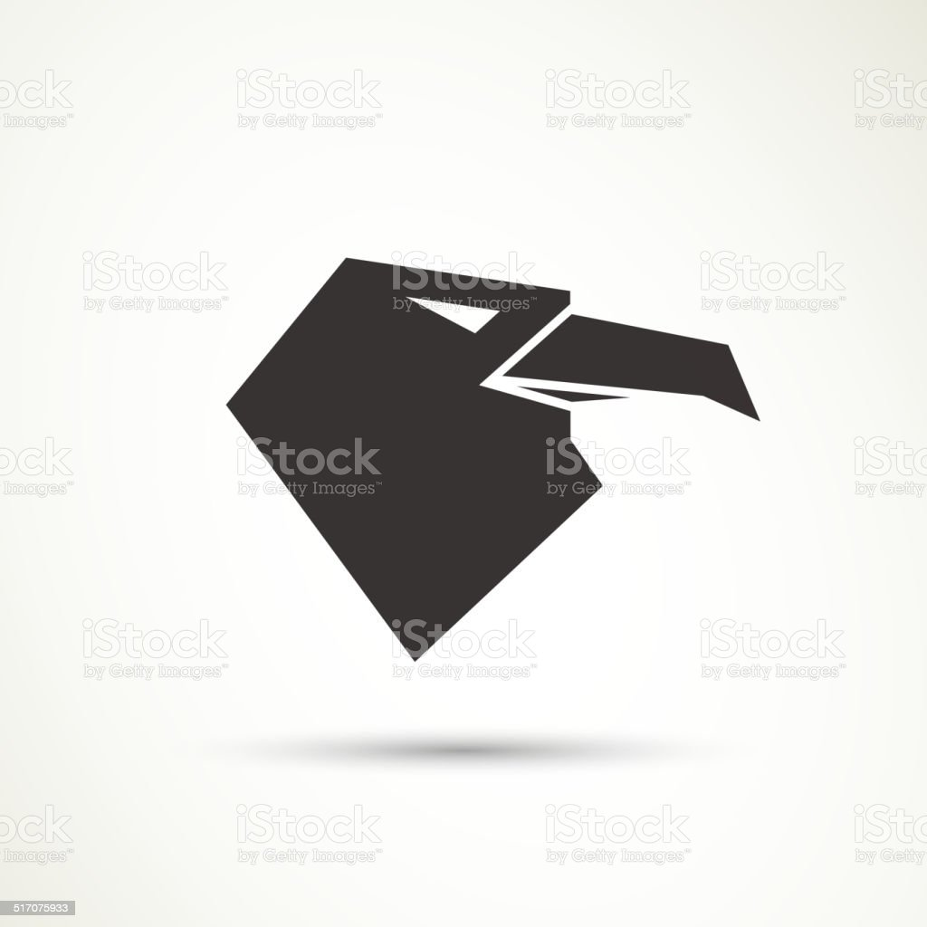 vector eagle logo design stock vector art more images of abstract