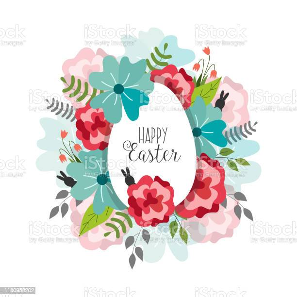 Vector easter poster with flowers egg vector id1180958202?b=1&k=6&m=1180958202&s=612x612&h=btggnflms40flg3u0k8kggujy5mm4rwggjkksv6ygy0=