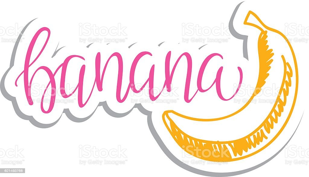 Vector eco friendly banana concept - design element made from vector eco friendly banana concept design element made from – cliparts vectoriels et plus d'images de abstrait libre de droits