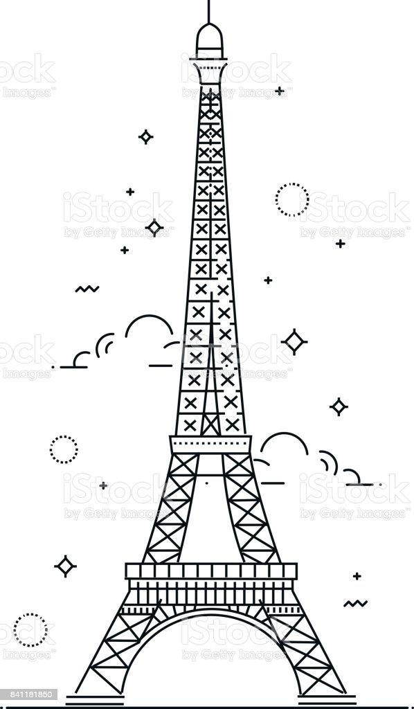Vector eiffel tower paris icon design stock vector art more images vector eiffel tower paris icon design royalty free vector eiffel tower paris icon design thecheapjerseys Gallery