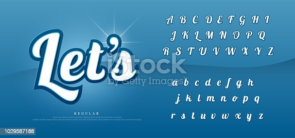 Vector elegant alphabet letters set. Exclusive Custom Letters. text designs for logo, Poster, Invitation, etc. Typography font 3d emboss style. vector illustrator