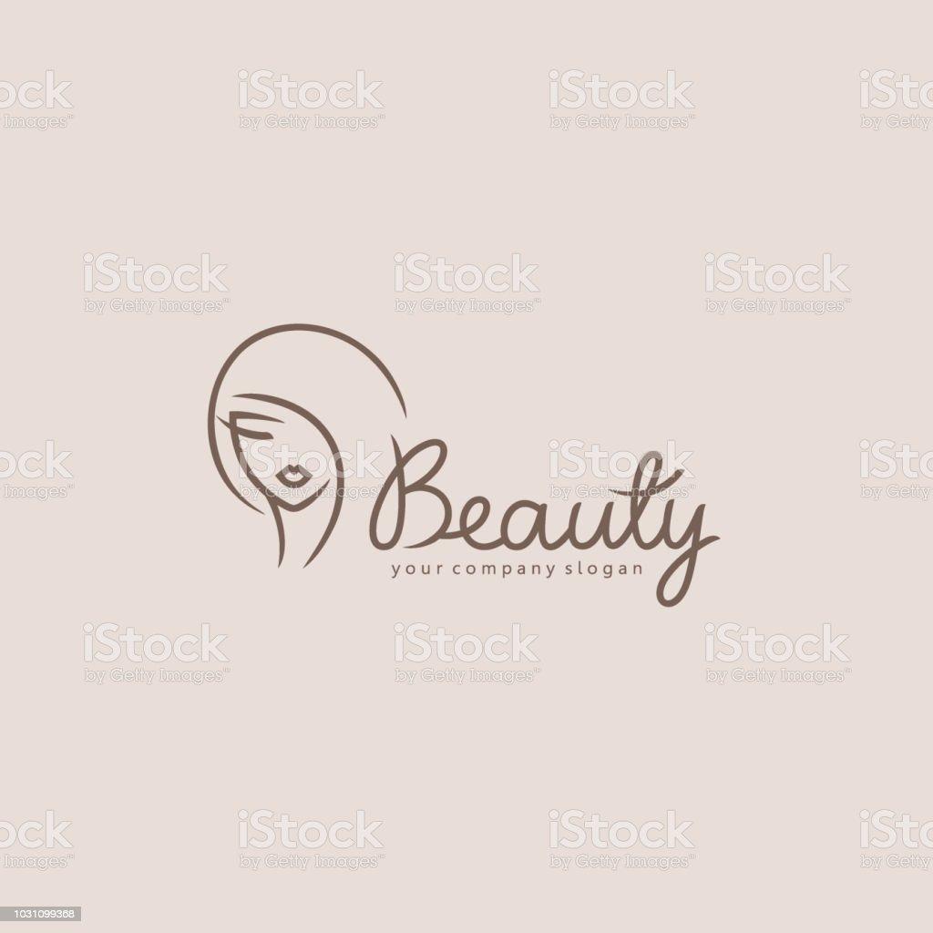 Vektor-Element-Design für Beauty-Salon, Friseur, Kosmetik - Lizenzfrei Abstrakt Vektorgrafik
