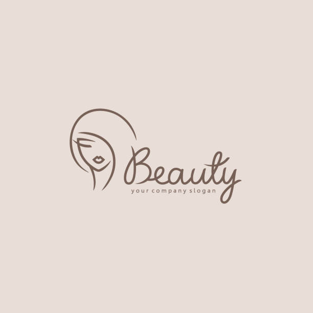 vector element design for beauty salon, hair salon, cosmetic - hairdresser stock illustrations