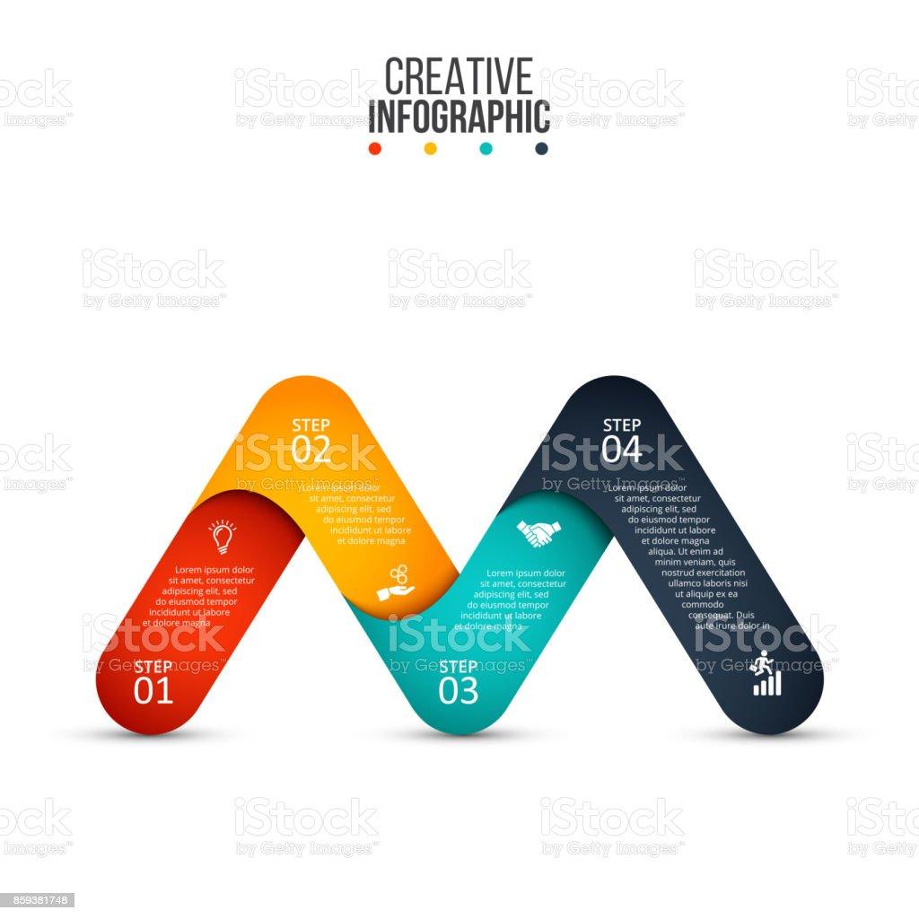 Vector element for infographic. vector art illustration