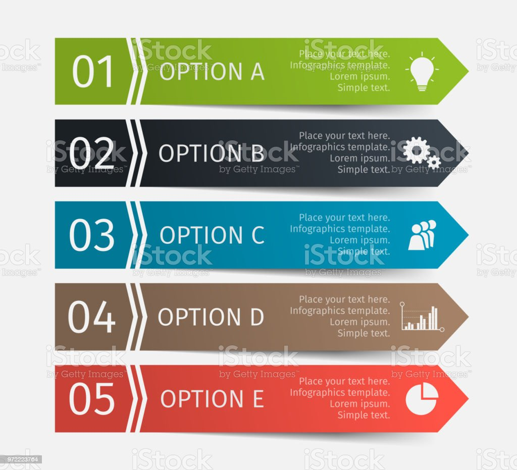 Vector Elements For Infographics Design List Diagram Workflow How To Draw A Good Of Business Basic Flowchart Layout Steps