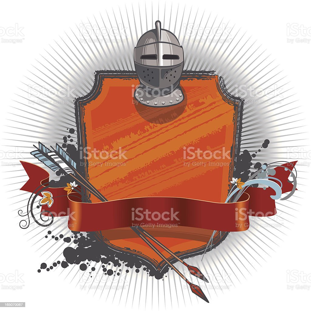 Vector Emblem vector art illustration