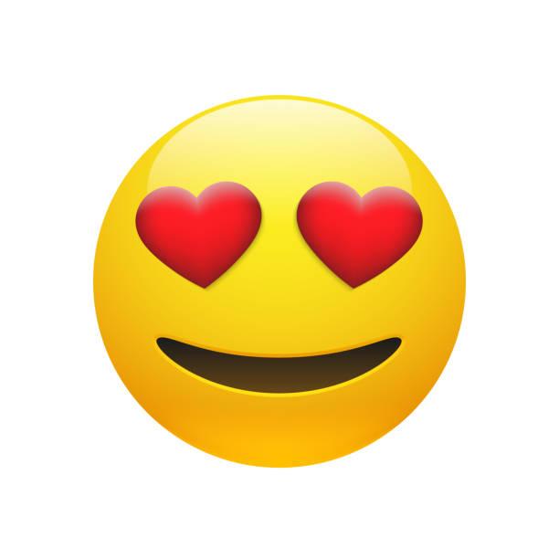vektor-emoji-gelbe dumm smiley-gesicht - emoticon stock-grafiken, -clipart, -cartoons und -symbole