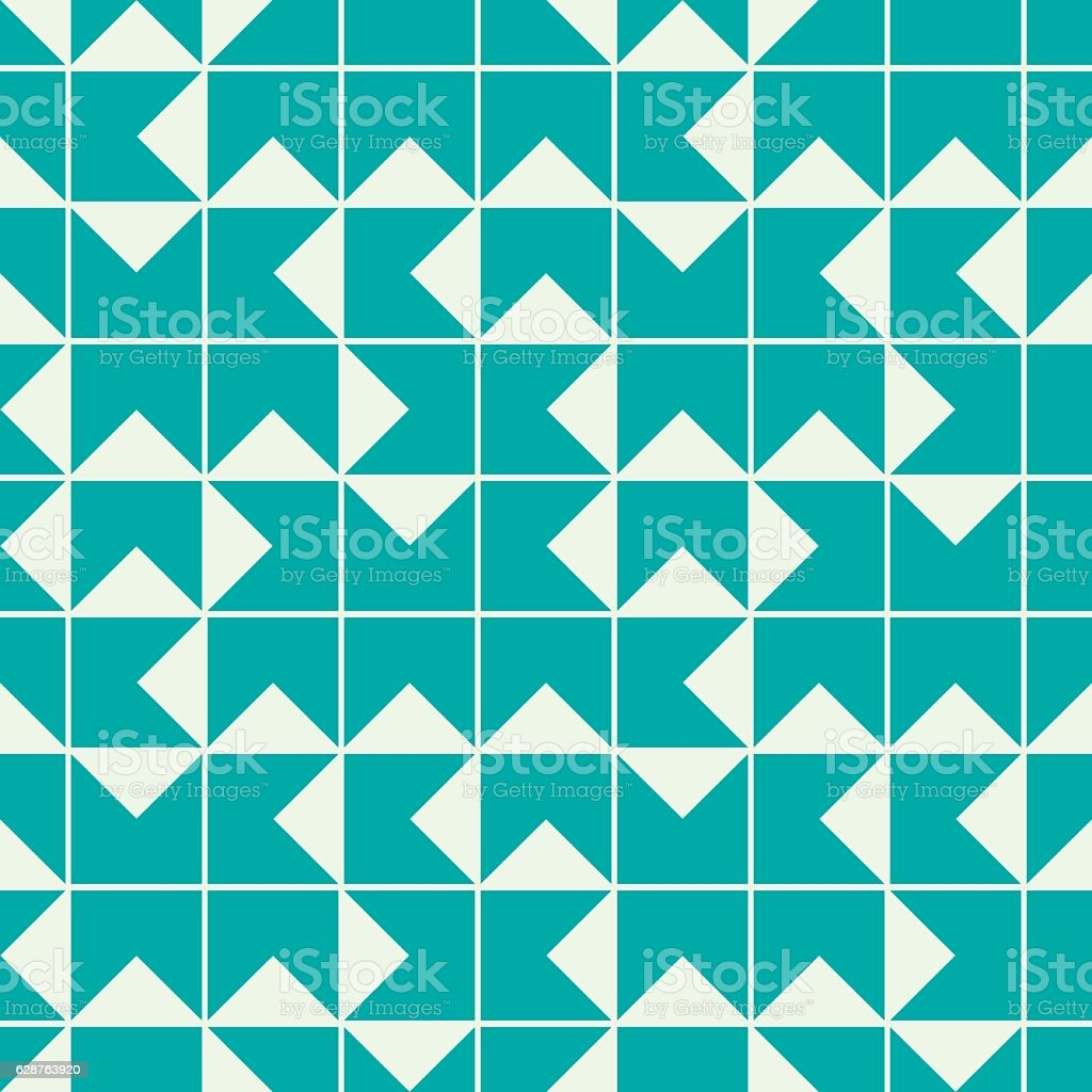 Vector endless pattern composed with geometric shapes. Graphic vector art illustration