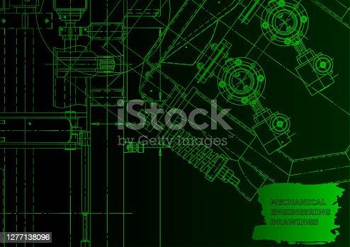 Vector engineering illustration