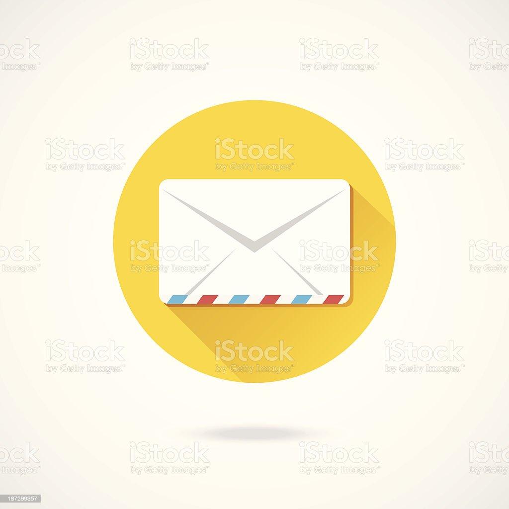 Vector Envelope Icon royalty-free stock vector art