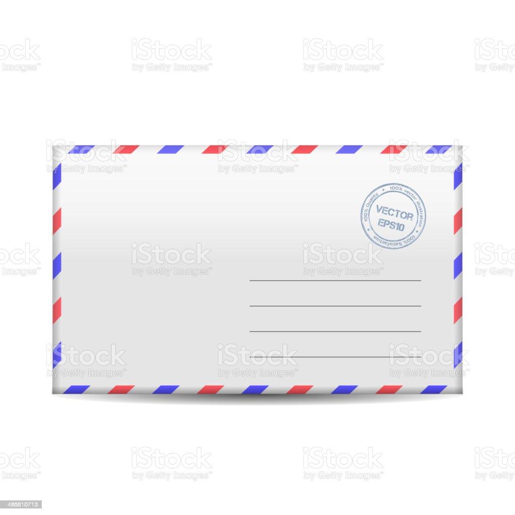 Vector envelope royalty-free stock vector art