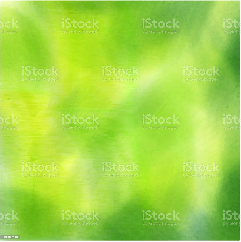 Vector EPS 10 abstract watercolor background. vector art illustration