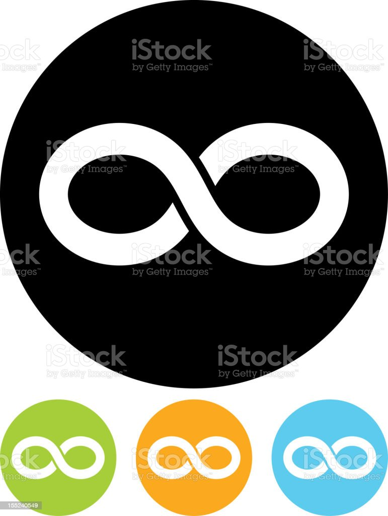 Vector eternity symbol icon royalty-free vector eternity symbol icon stock vector art & more images of attached