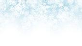 3D Vector Falling Snow Effect