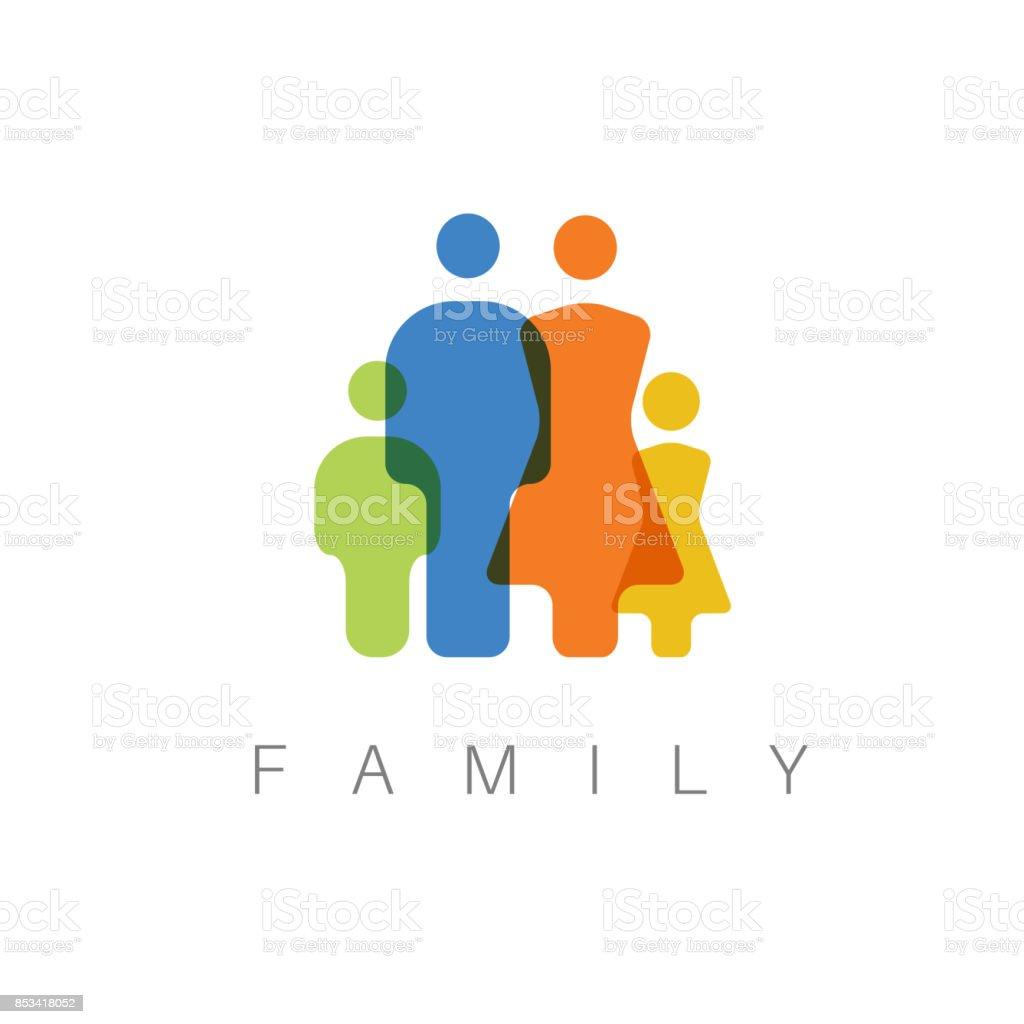 Vector family concept illustration vector art illustration