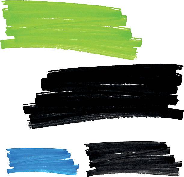 vector フェルトペンシミ設定 1 - ブラシ点のイラスト素材/クリップアート素材/マンガ素材/アイコン素材